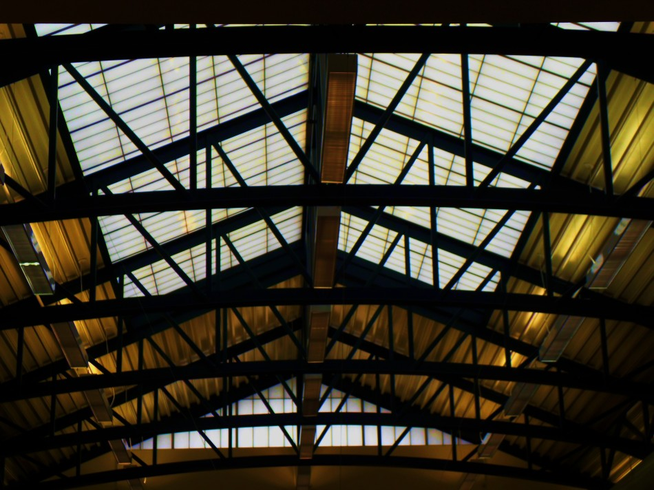 ceiling, Port Angeles library